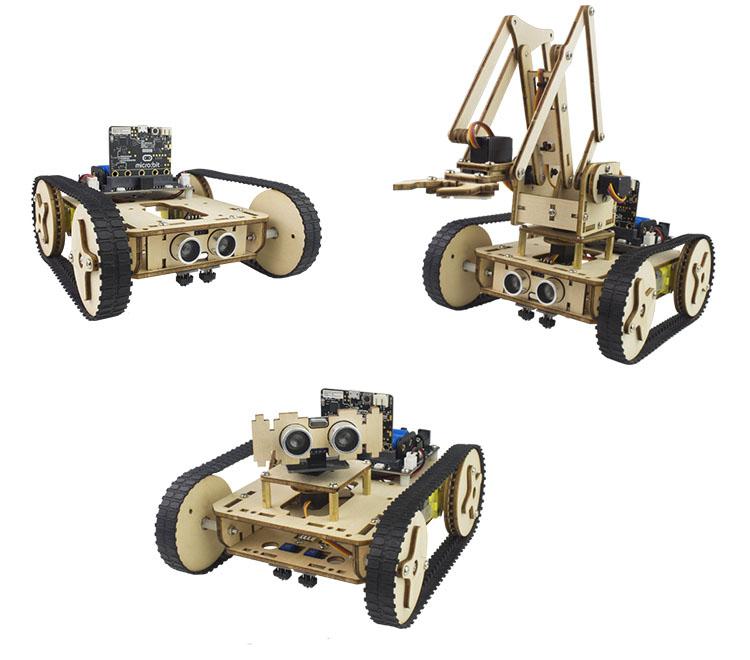 Робот Armbit может быть собран в трех формах