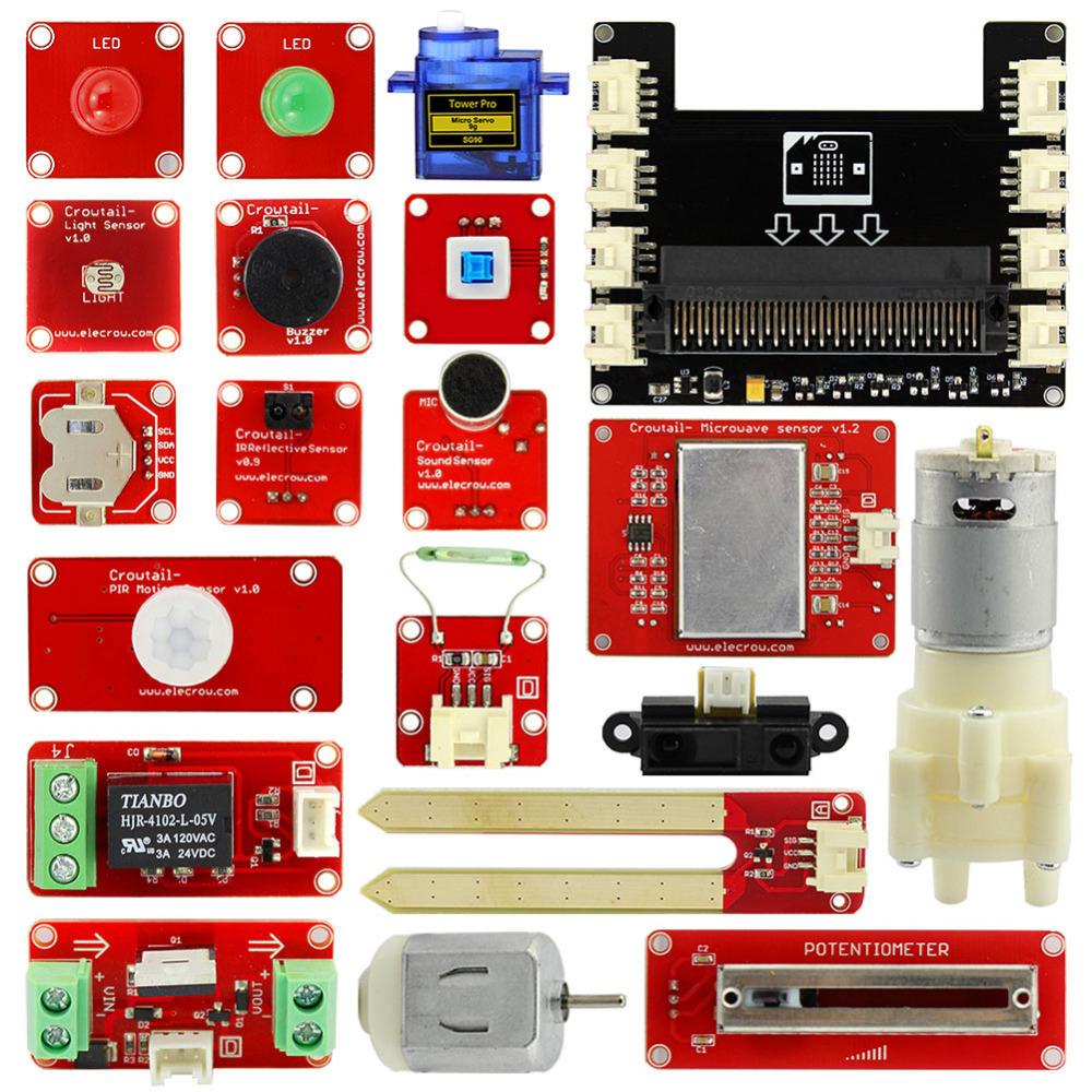 Комплектстартового комплекта (starter kit) для microbit