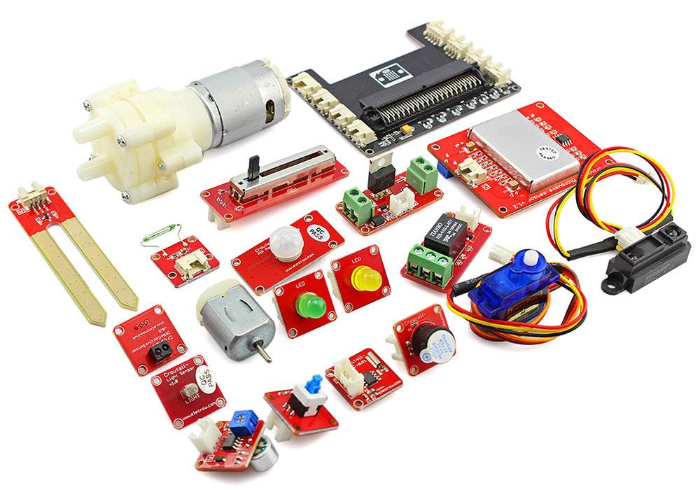 Уроки стартового комплекта (starter kit) для microbit