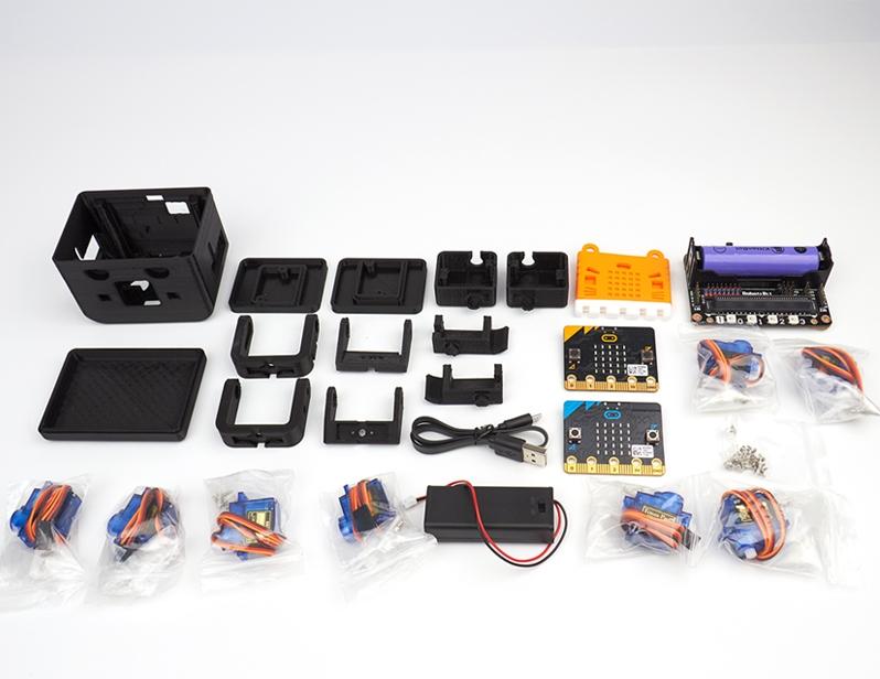 Комплект поставкиОтто робота на платформе microbit