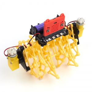 Много ногий зверь робот на microbit