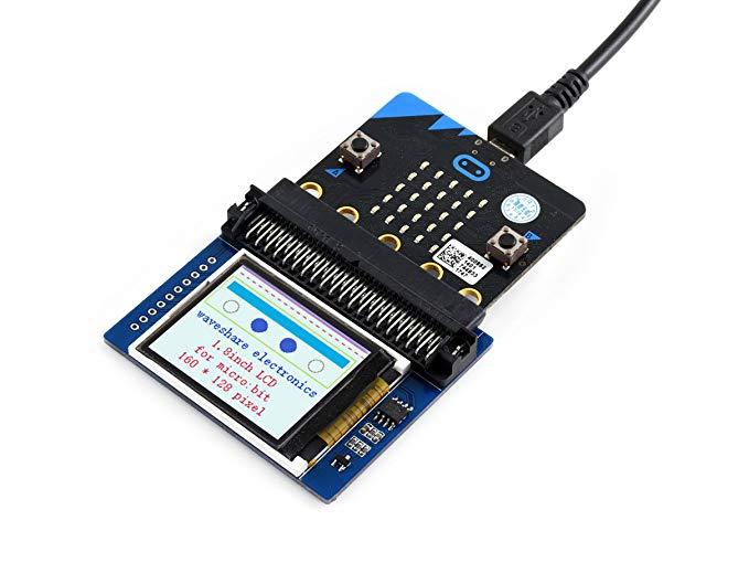 1,8 дюймовый цветной дисплей модуль для microbit