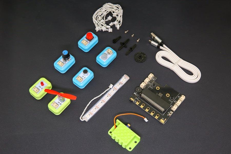 Комплект поставкиcтартового комплекта для microbit