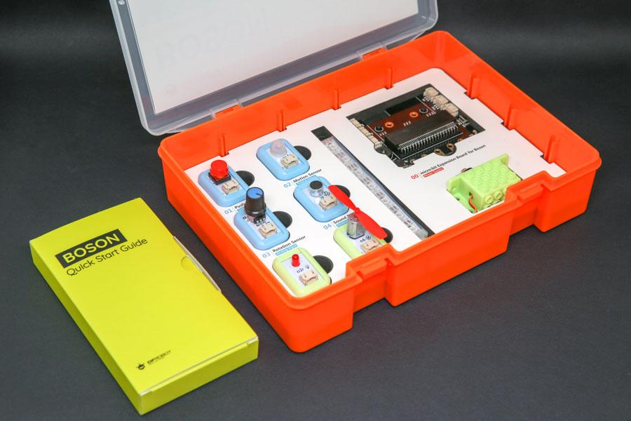 Стартовый комплект для микробит состоит из 8ми модулей