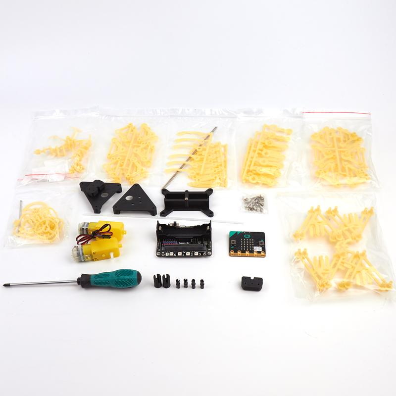 Комплект поставки много ногого зверя робота на microbit
