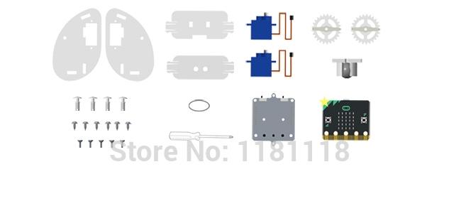 Комплект поставкиRingbit умный робот автомобиль на microbit