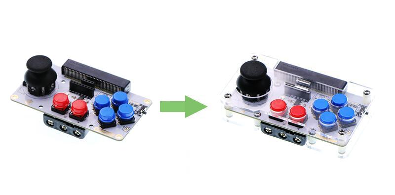 ОсобенностиJoystick bit модуля расширения и прозрачный корпус для microbit