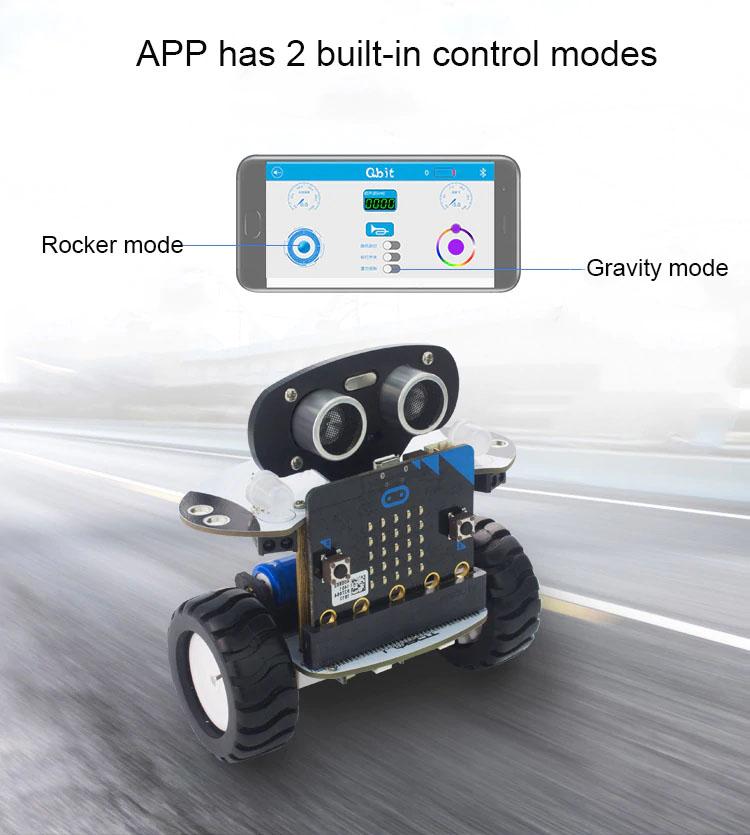 КупитьQbit робот комплект для microbit