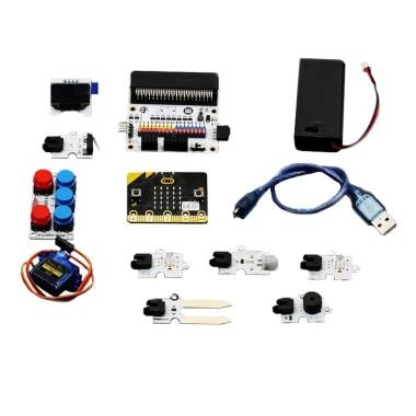 Учебник комплекта умного дома на micro:bit содержит следующие схемы