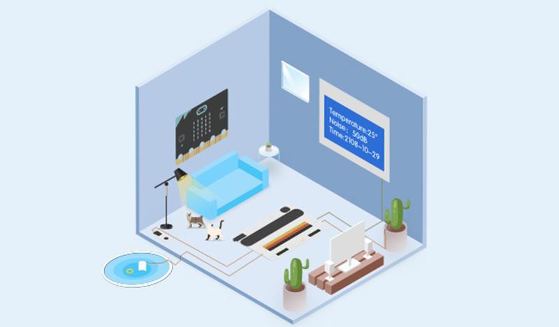 Комплект для построения умного дома на micro:bit - набор датчиков таких