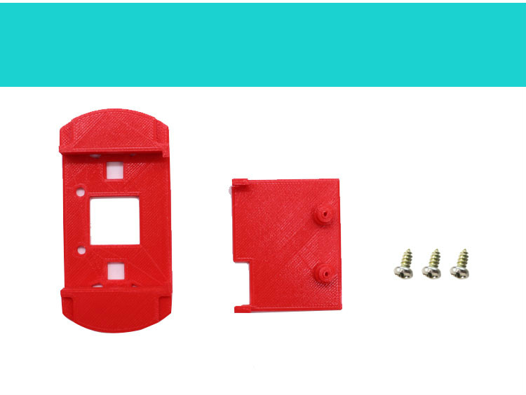 Комплект поставки защитного чехла (корпус) microbit с держателем батареи