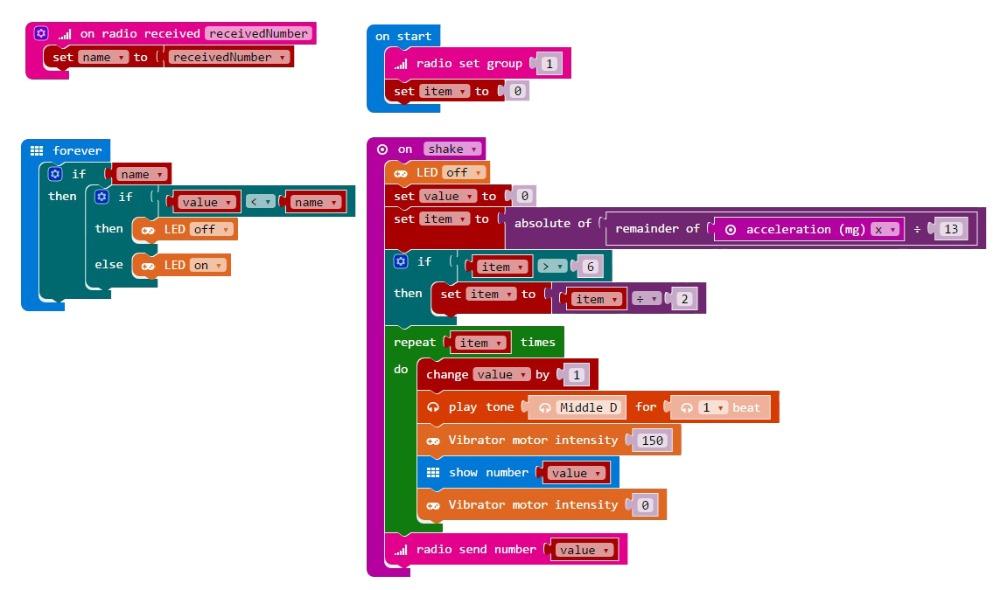 Код для геймпада плата расширения для микробит